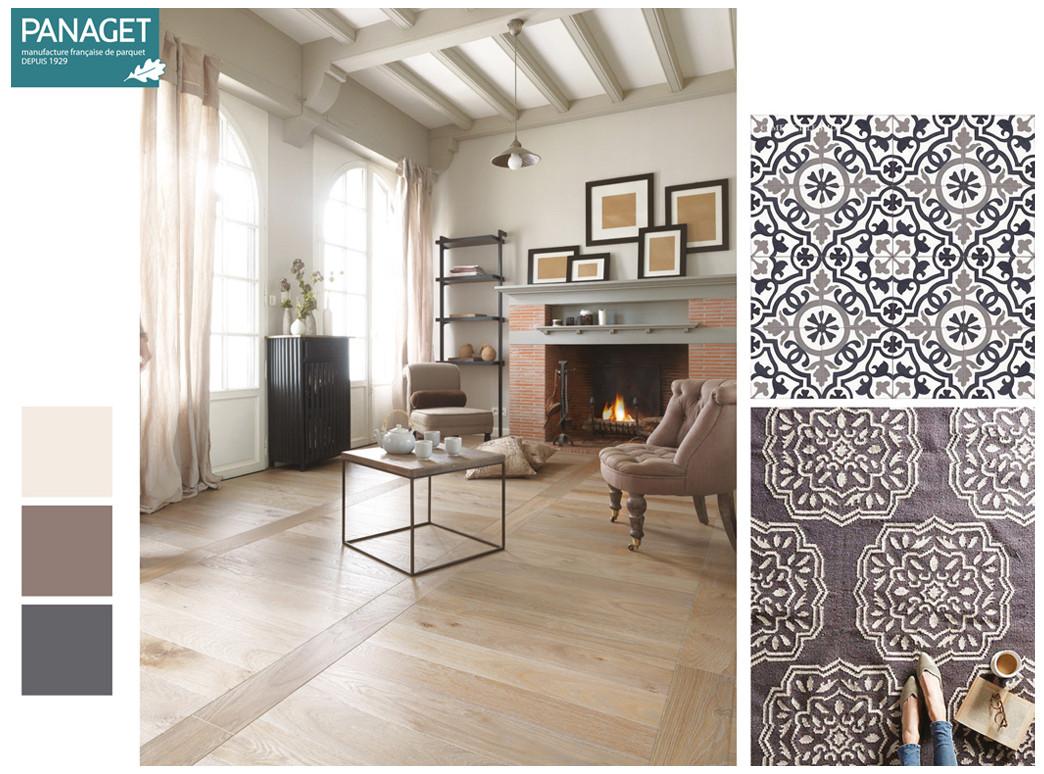 les tendances graphiques des parquets panaget. Black Bedroom Furniture Sets. Home Design Ideas