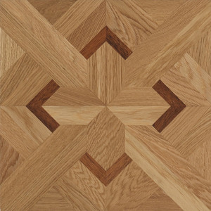 Classic n°1 Satin French Oak Carmen Marquetry