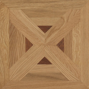 Classic n°7 Satin French Oak Carmen Marquetry