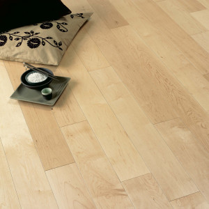 Satin Canadian Maple Diva 139 Wood Floor