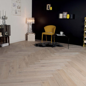 Zenitude Tufeau French Oak Herringbone 139 Wood Floor