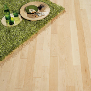 Satin Maple Diva 90 Wood Flooring