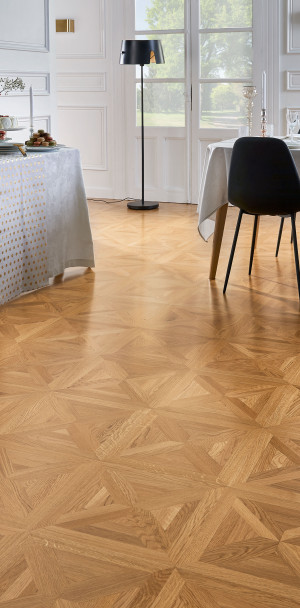 Classic n°5 Satin French Oak Carmen Marquetry