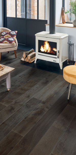 Zenitude Tourbe French Oak Diva 184 Wood Floor