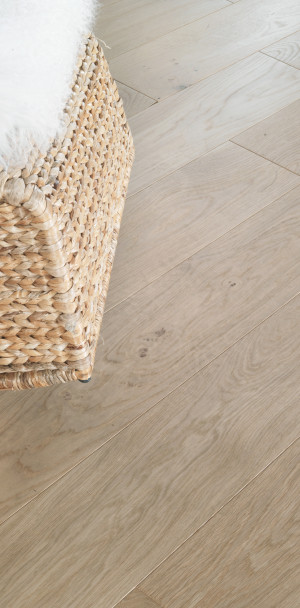 Authentic Bois flotté French Oak Diva 139 Wood Floor