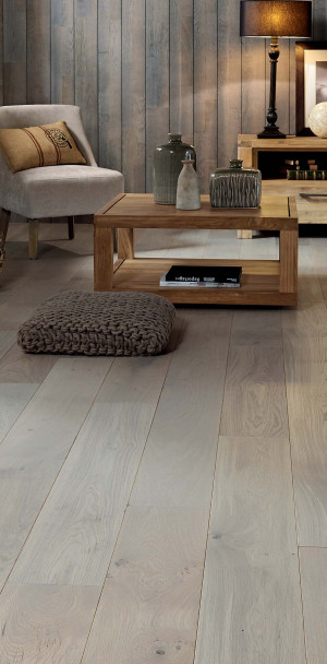 Zenitude Grey Oil French Oak Diva 184 Wood Floor