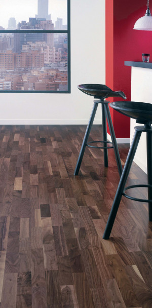 Satin US Walnut Orféo 139 Wood Flooring