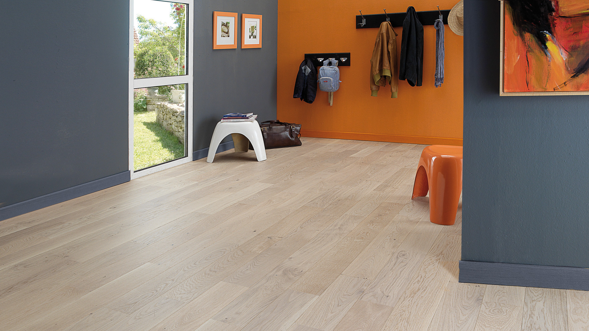 Parquet en French oak Tradition Linen 12 mm