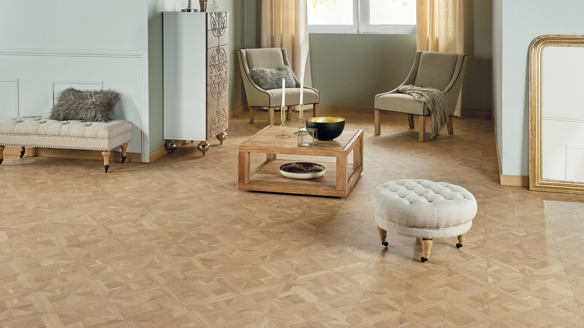Parquet en French oak Classic n°2 Bois flotté 14 mm