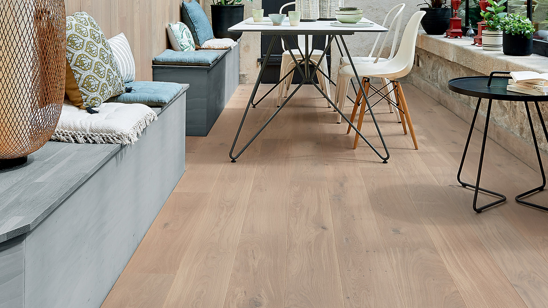 Parquet en French oak Zenitude Rafia 14 mm