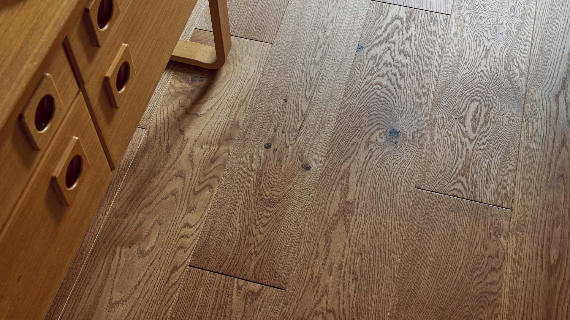 Parquet en French oak Authentic Cuir 14 mm