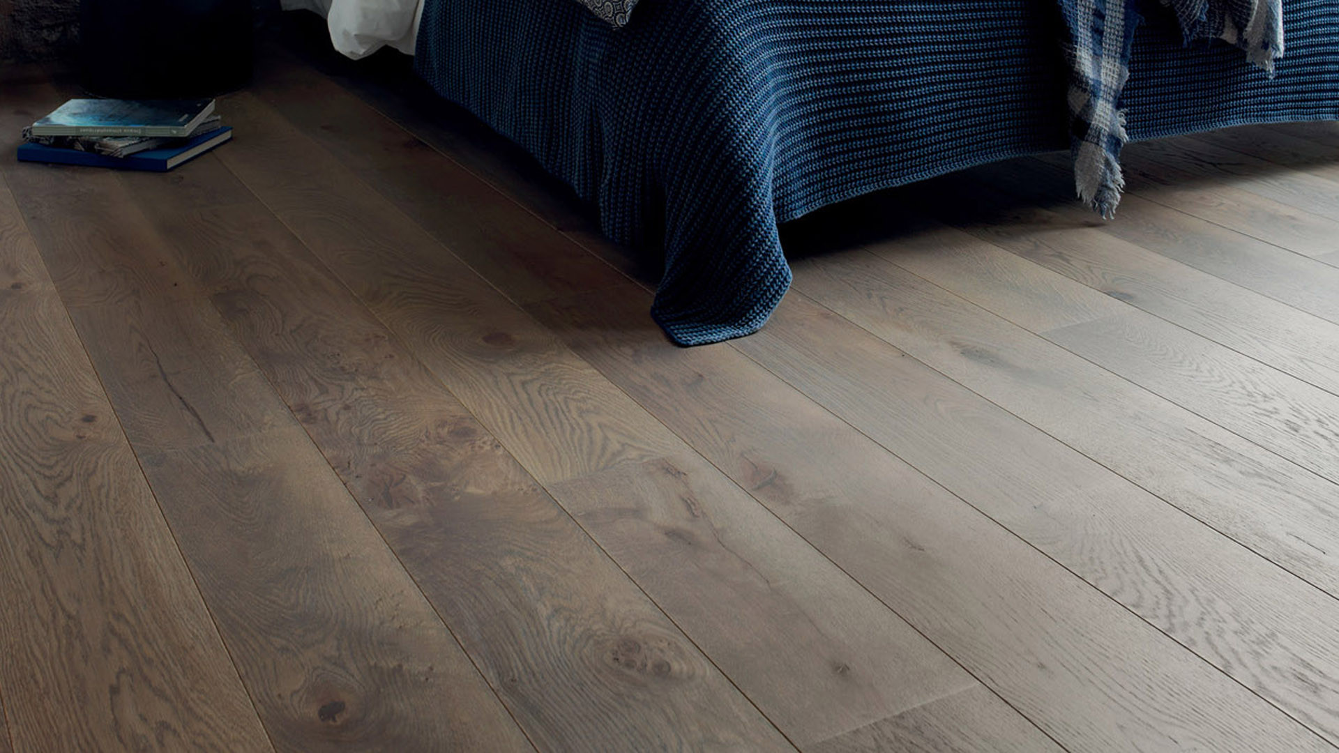 Parquet en French oak Zenitude Argile 14 mm