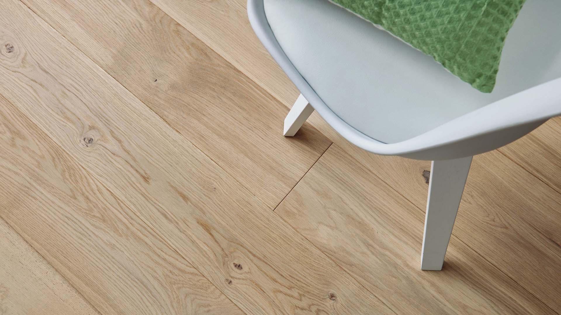 Floor French oak Zenitude Bois flotté Diva 184 - Engineered wood floor