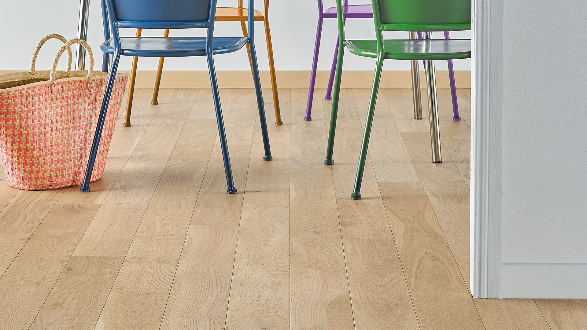 Parquet en French oak Mix Bois flotté 12 mm