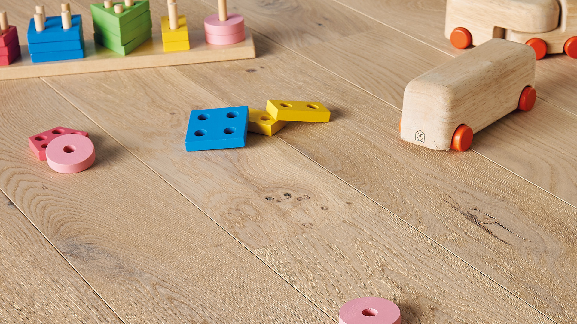 Parquet en French oak Mix Linen 12 mm