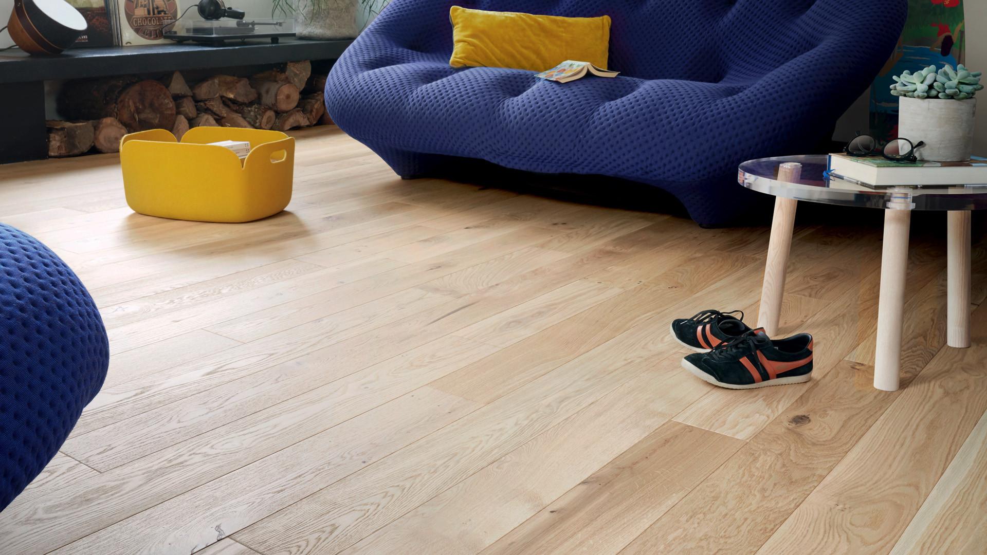 Piece A Vivre Parquet floor french oak zenitude bois flotté diva 139 - engineered