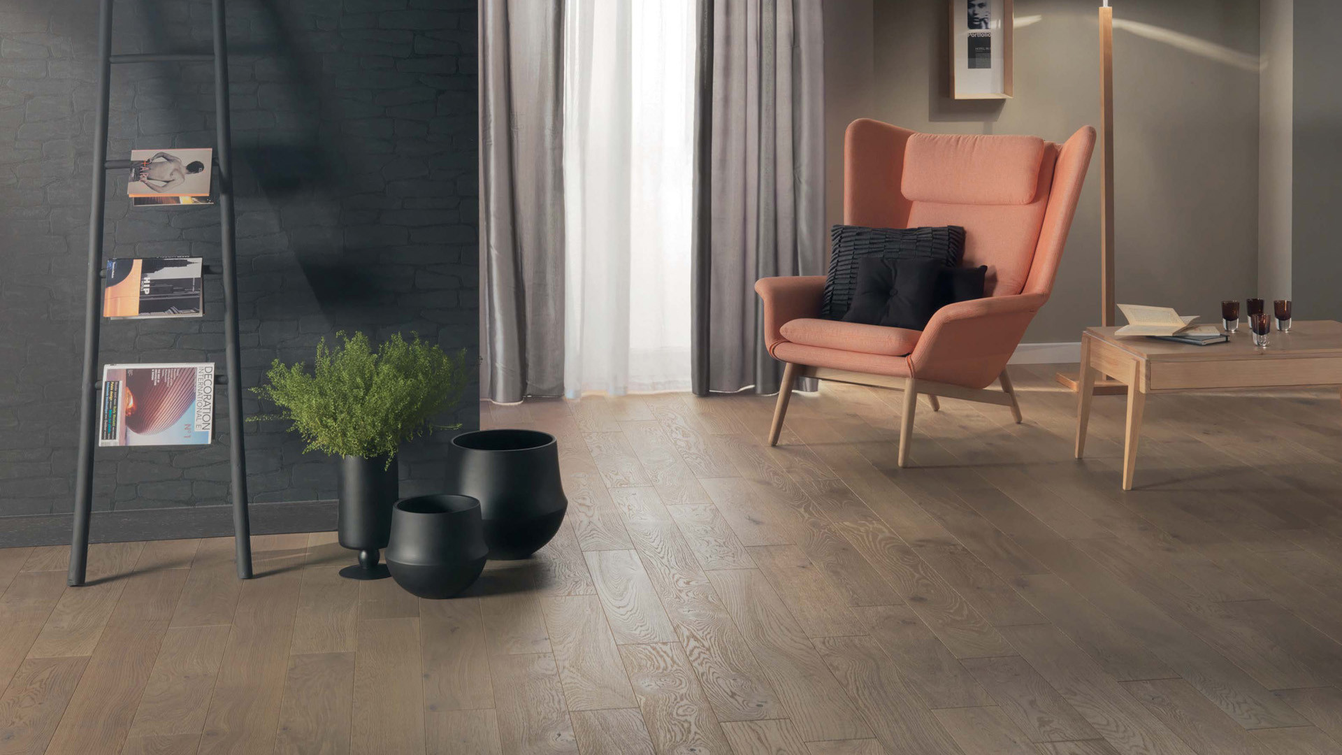 Parquet en French oak Zenitude Rafia 12 mm