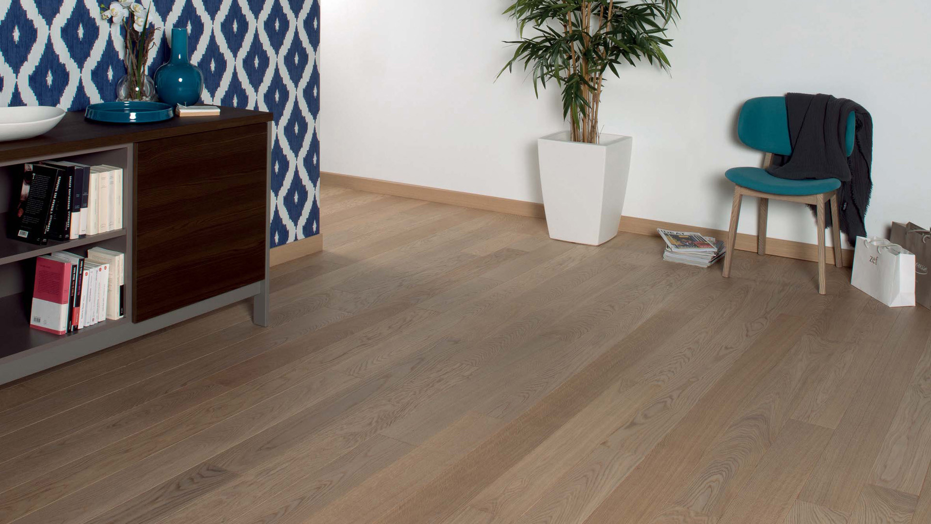 Parquet en French oak Classic Linen 14 mm