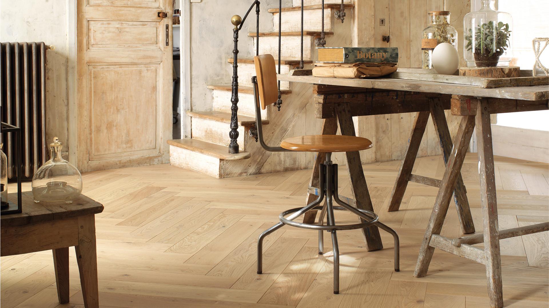 floor french oak authentic bois flott herringbone 139. Black Bedroom Furniture Sets. Home Design Ideas
