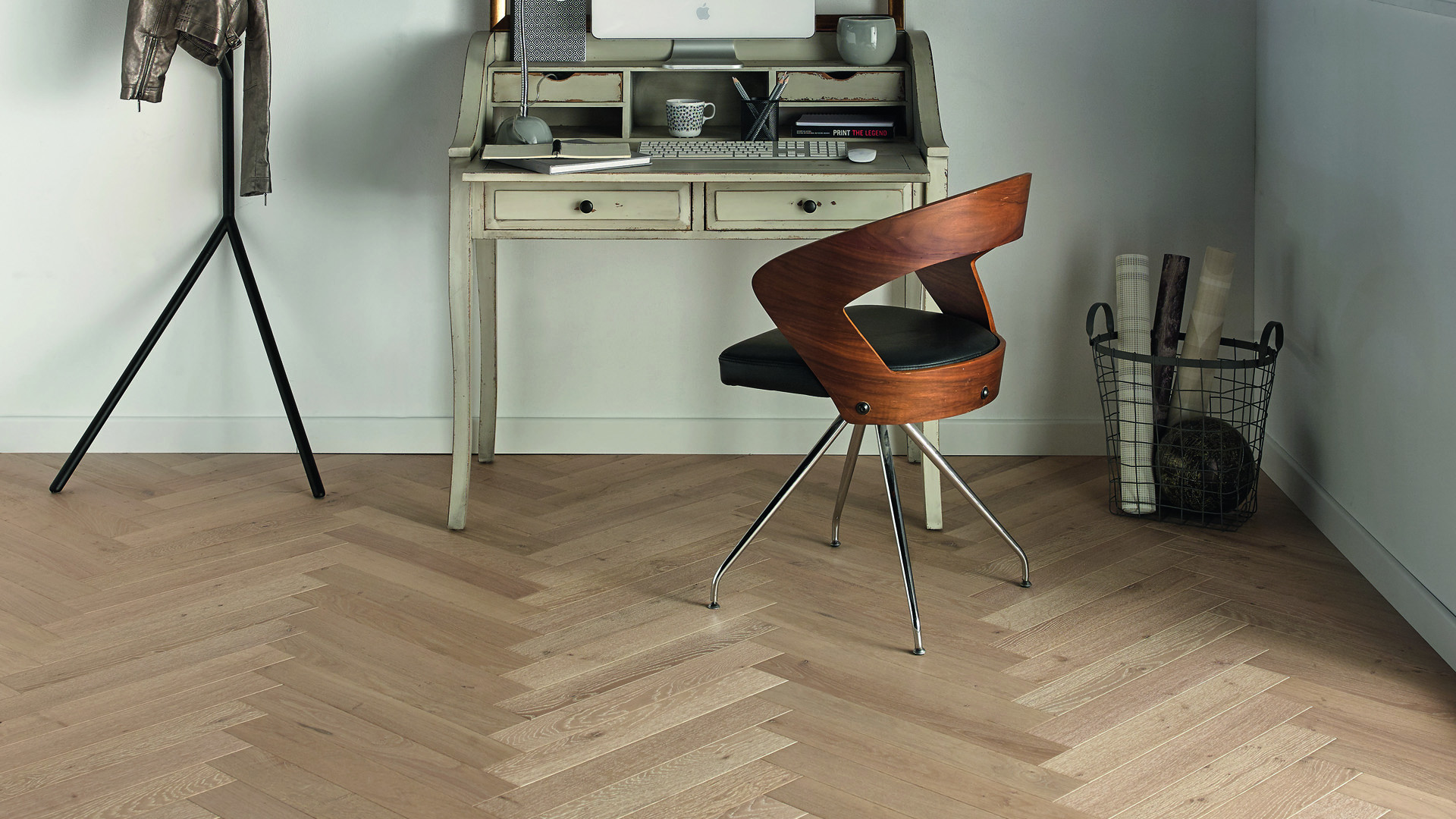 Parquet en French oak Mixed Classic/Authentic Tufeau 12 mm