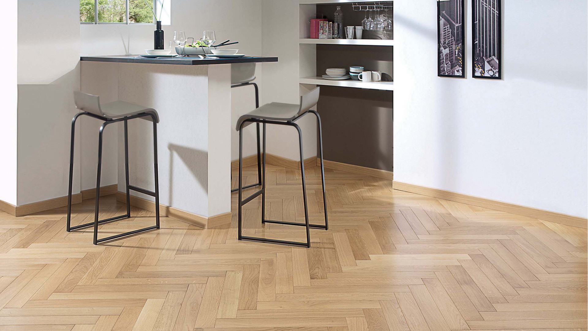 parquet ch ne mix classic authentique satin b ton rompu 90. Black Bedroom Furniture Sets. Home Design Ideas