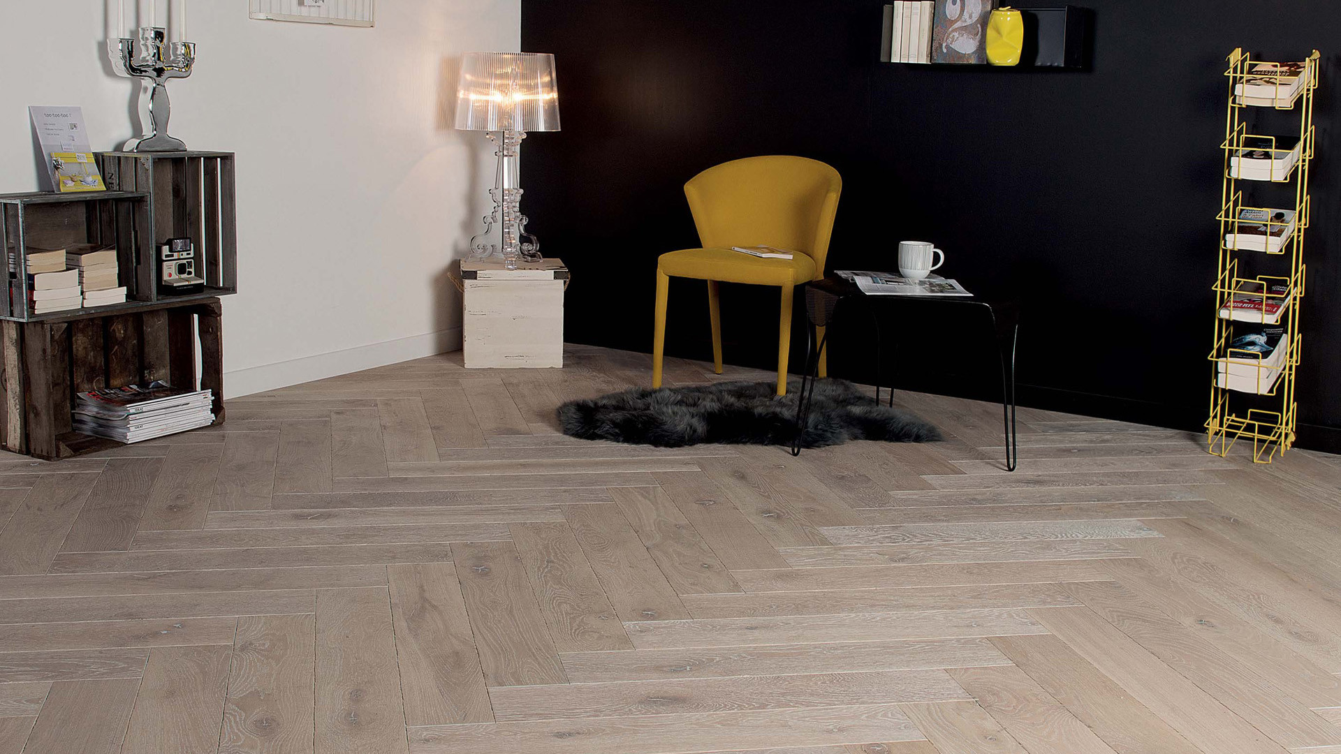 Parquet en French oak Zenitude Tufeau 14 mm