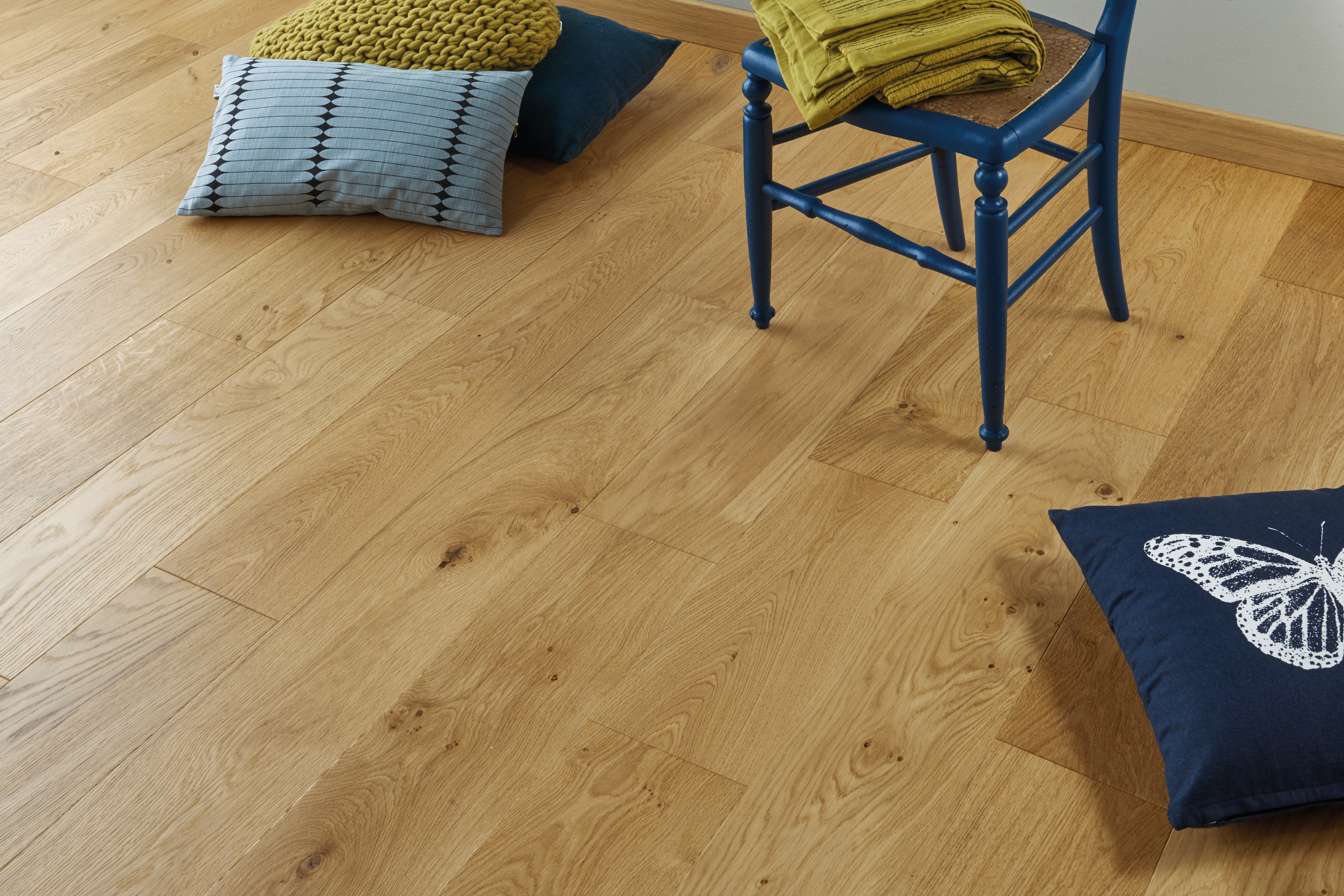 Parquet en French oak Authentic Opale 12 mm