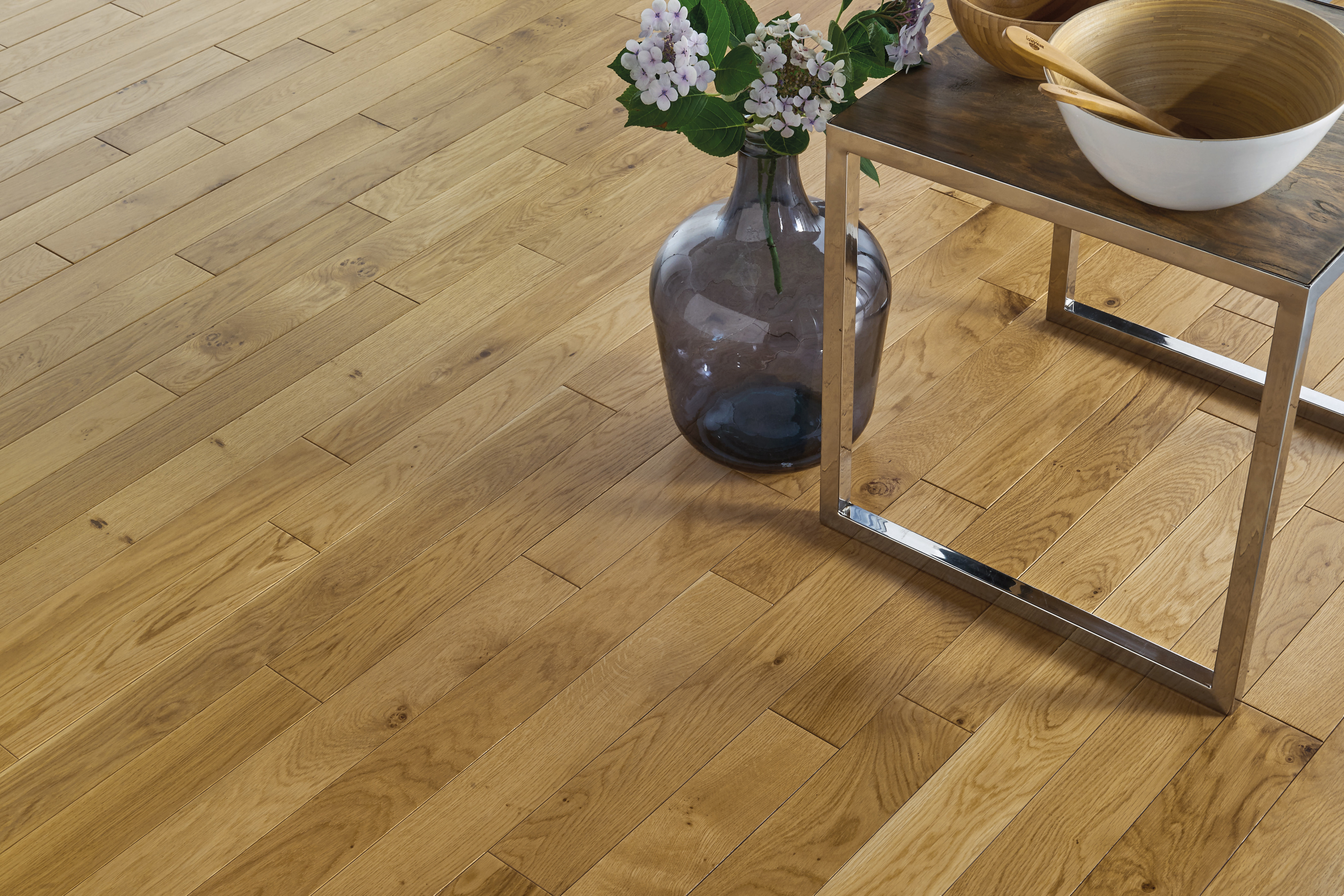 Parquet en Chêne Authentique Satiné 14 mm