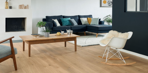 Authentic Bois flotté French Oak Diva 223 Wood floor