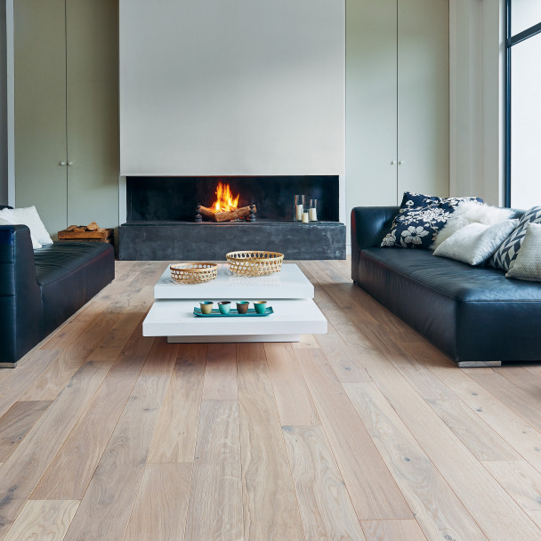 Zenitude White oil French Oak Diva 139 Wood Floor