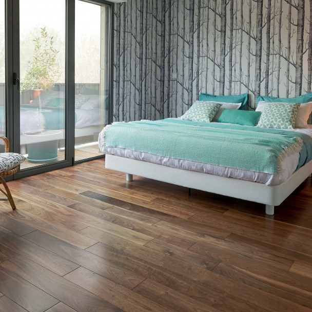Satin US Walnut Diva 139 Wood Floor