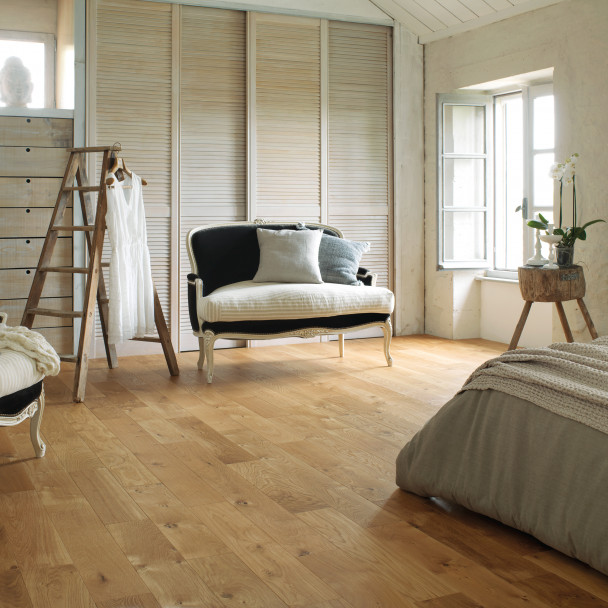 Authentic Natural oil French Oak Sonate 140 Solid Wood Floor