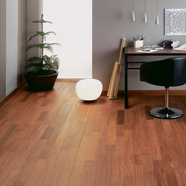 Satin Jatoba Diva 90 Wood Flooring
