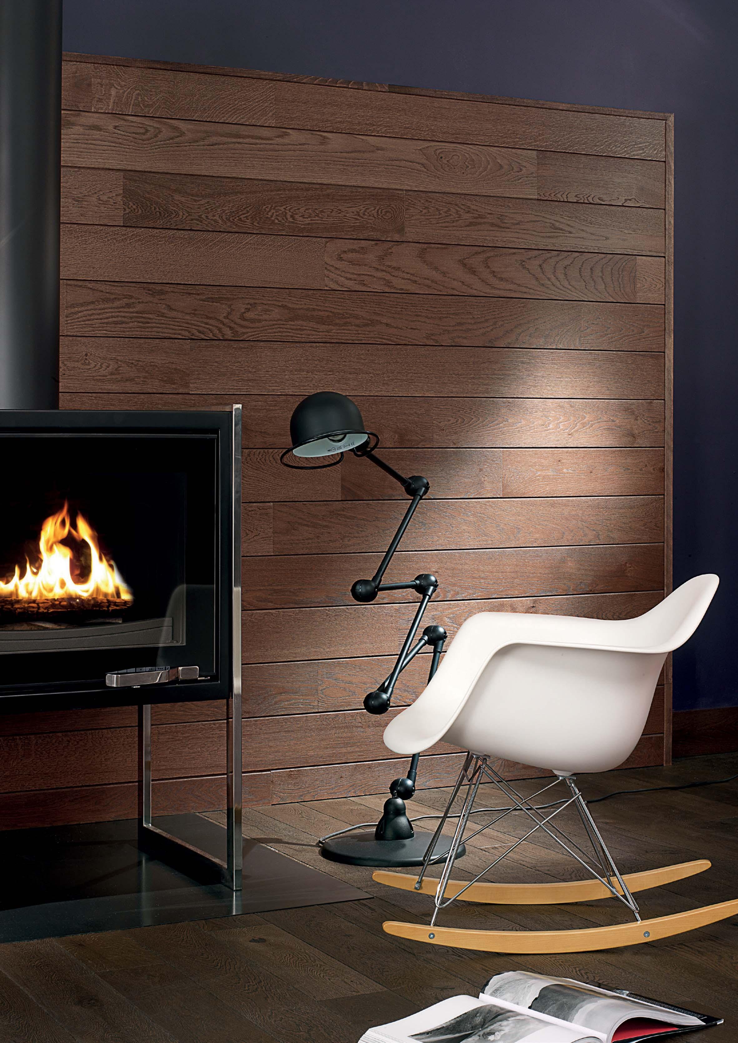 parquet ch ne automne bois mural 141. Black Bedroom Furniture Sets. Home Design Ideas