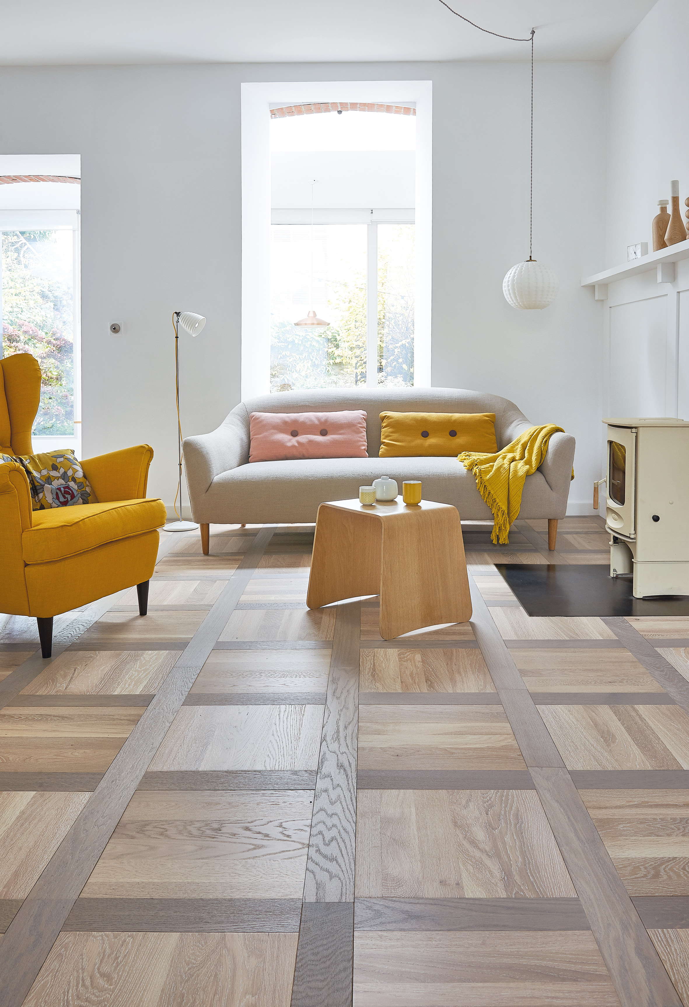 parquet ch ne tradition tufeau huile grise pixel parquet contrecoll. Black Bedroom Furniture Sets. Home Design Ideas